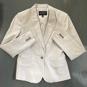 Banana Republic Size 4 Khaki Suit Blazer Jacket